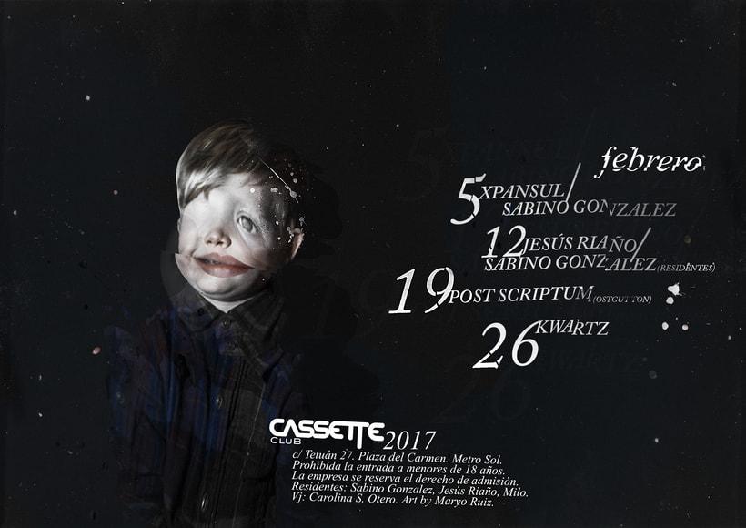 Cassette Club · Flyers · 2