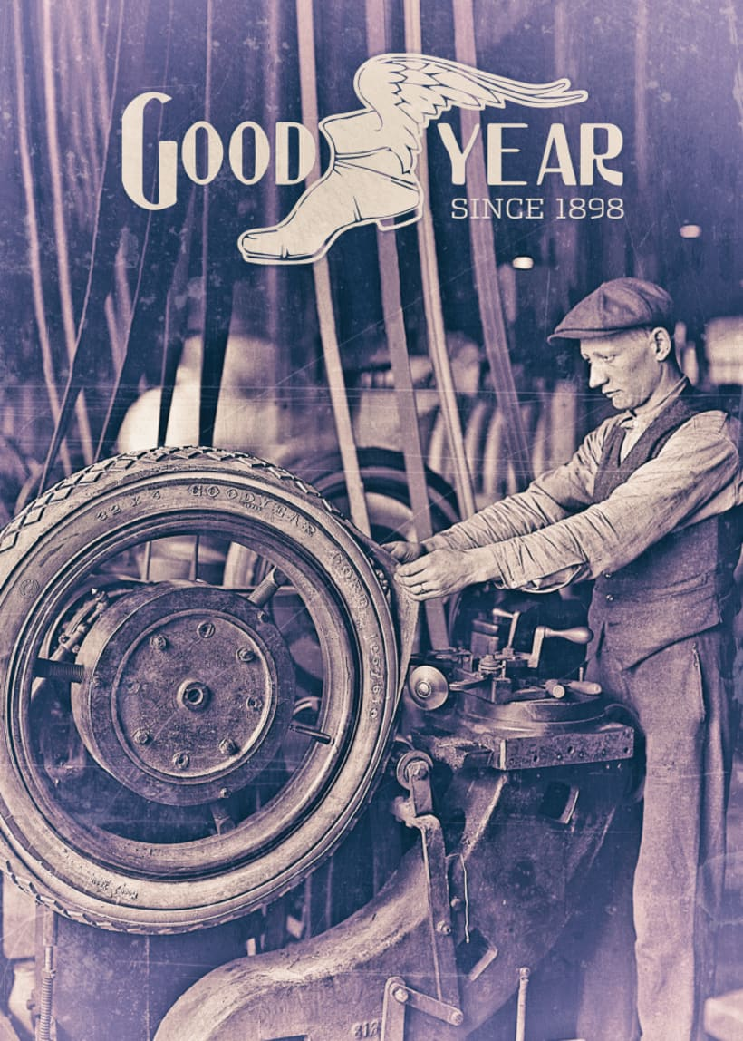 Poster Vintage Goodyear 0