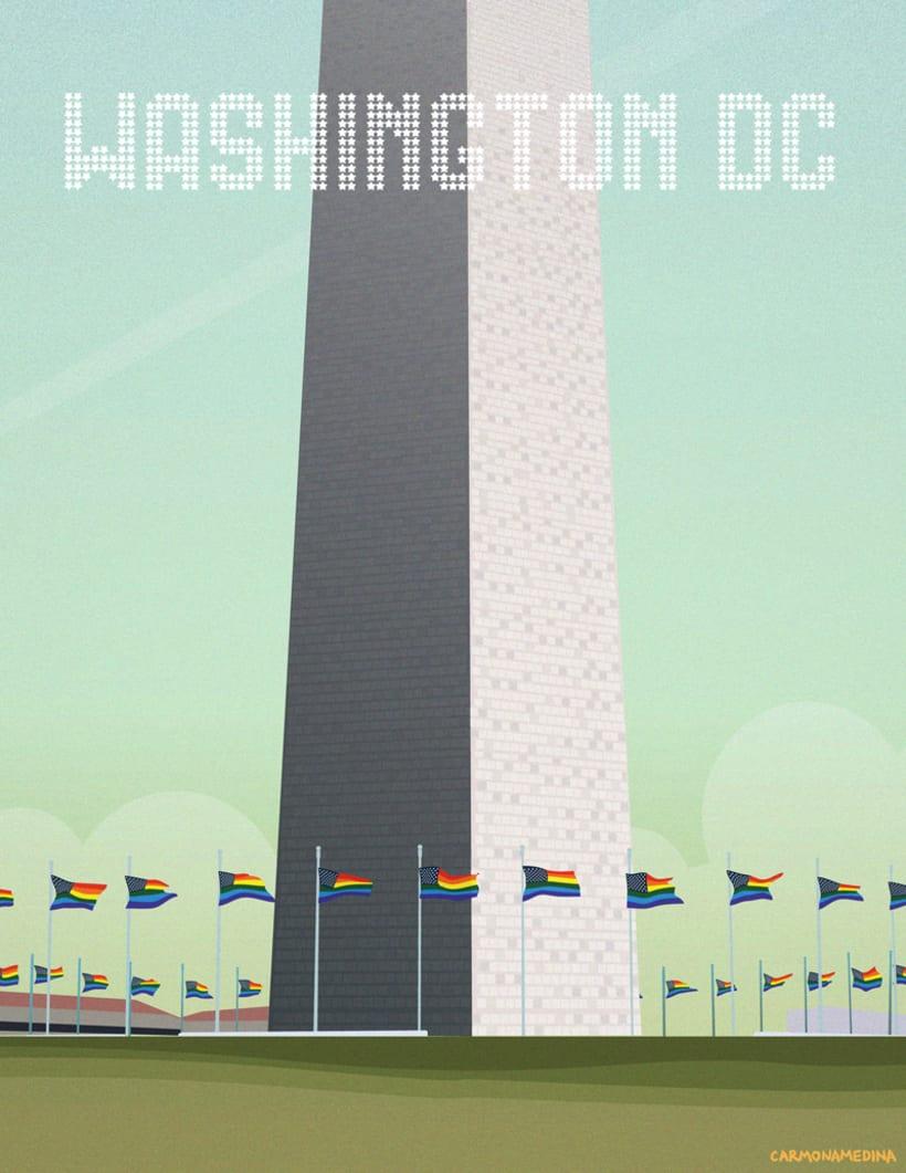 Postcards from Washington DC 6
