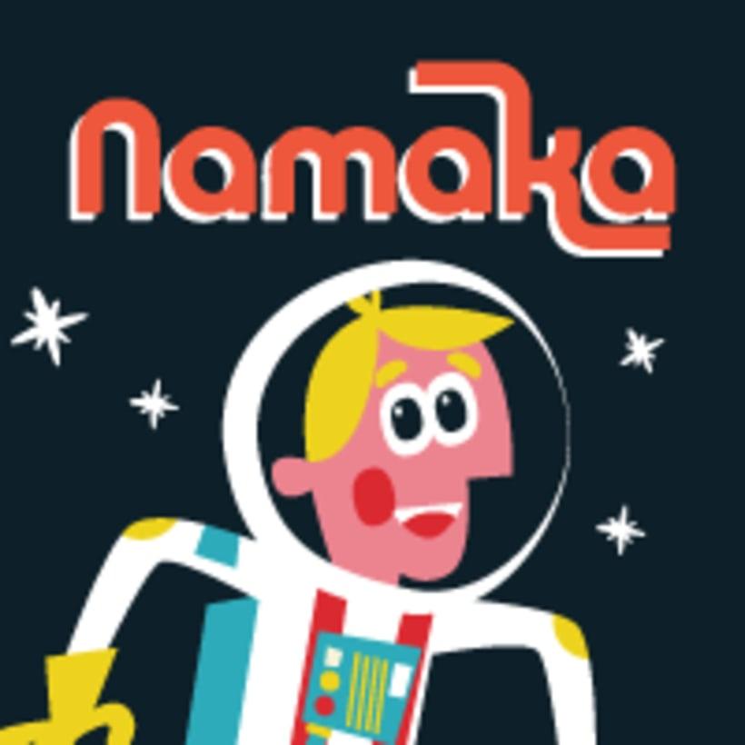Comercial Revista infantil Namaka 1
