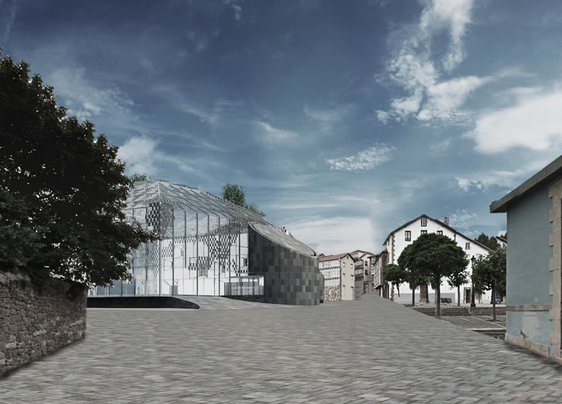 Infografías 3d para Concurso Centro Sociocultural en el Mercado de Abastos de Reinosa, Cantabria 0