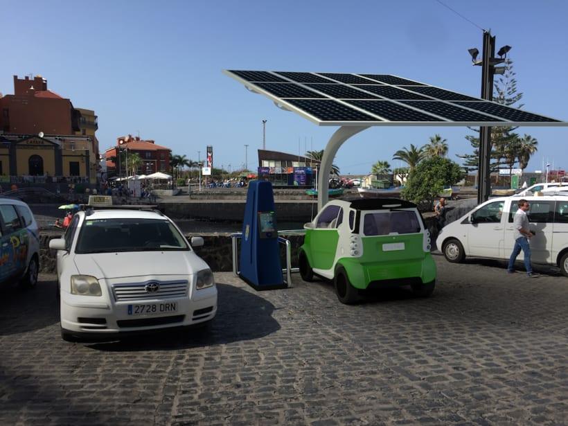 SunCar Aparcamientos para coches eléctricos -1