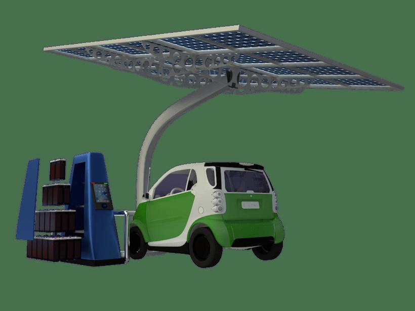 SunCar Aparcamientos para coches eléctricos 0