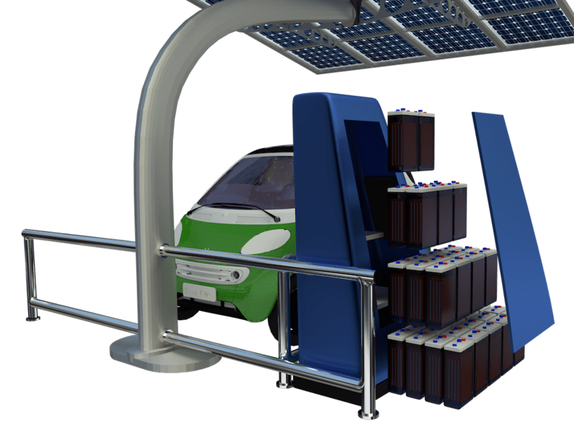 SunCar Aparcamientos para coches eléctricos 1