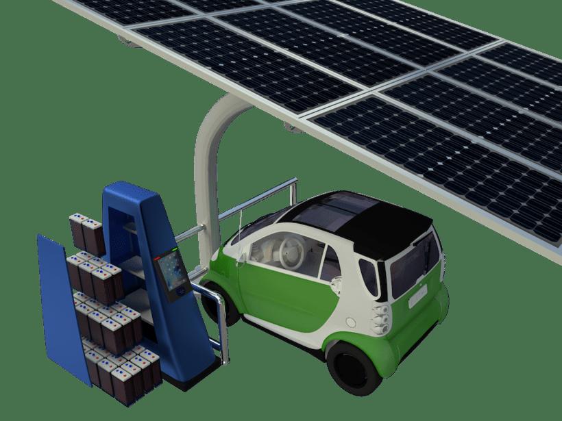 SunCar Aparcamientos para coches eléctricos 3