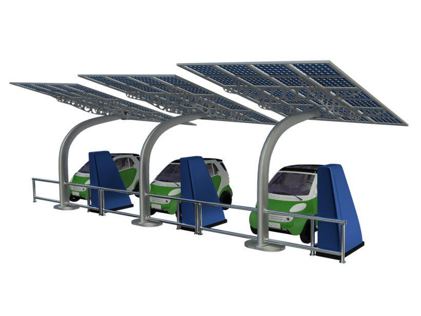 SunCar Aparcamientos para coches eléctricos 4