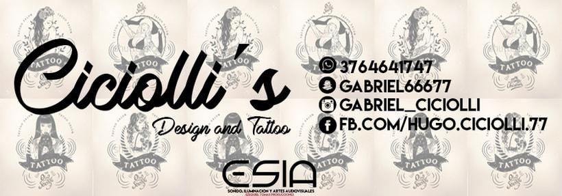 Trabajo para Ciciolli's Tattoo -1