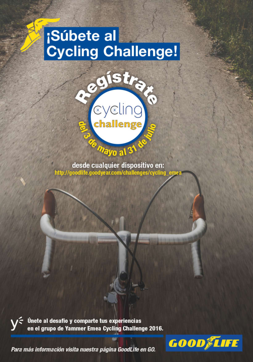 Poster Cycling challenge -1