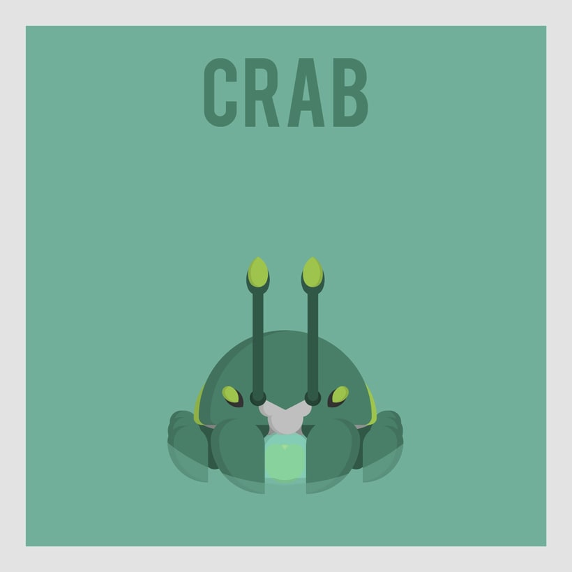 League of Legends Monsters: Crab -1