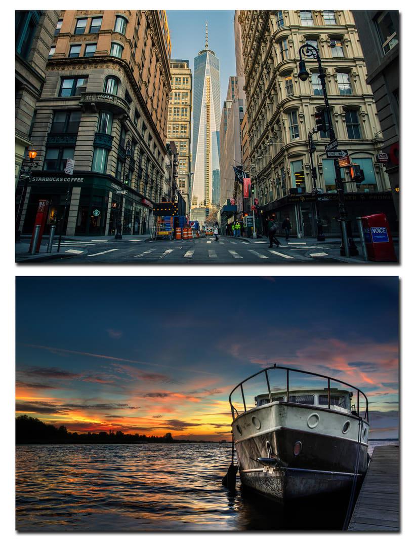 """Mi Proyecto del curso: Secretos del fotomontaje y el retoque creativo """"Nueva York"""" 0"""