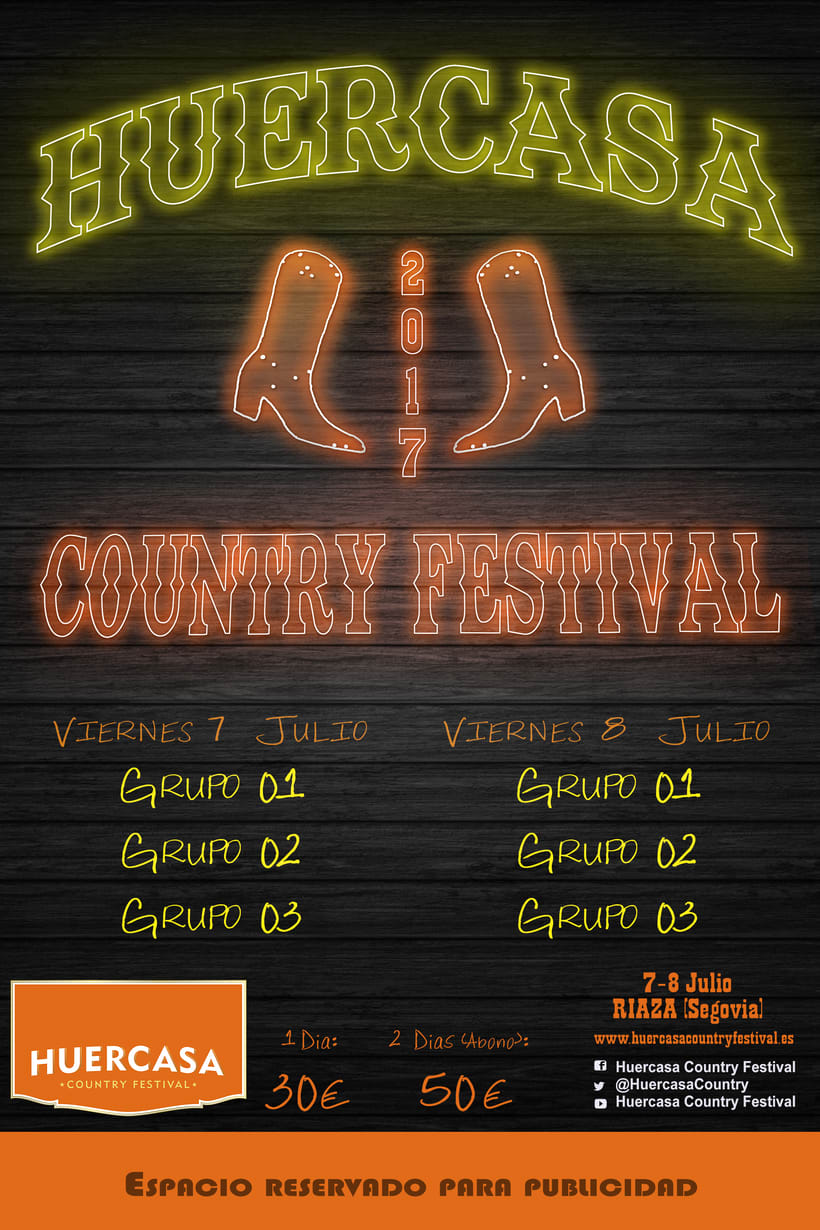 HUERCASA FESTIVAL 2017 (Cartel) -1