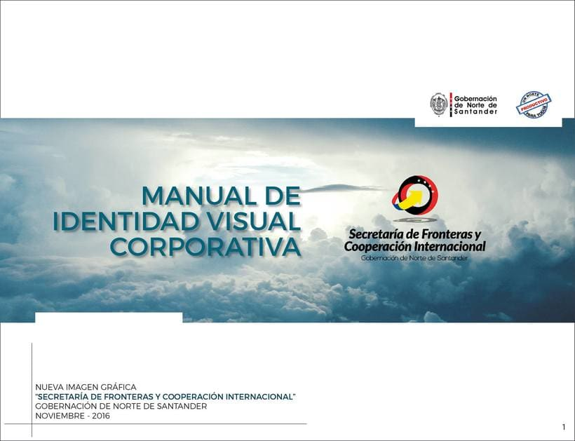 Manual de Identidad Visual Corporativa (Secretaría de Fronteras y Cooperación Internacional) 0