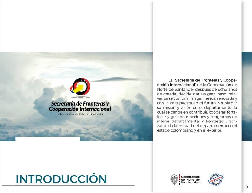 Manual de Identidad Visual Corporativa (Secretaría de Fronteras y Cooperación Internacional) 1