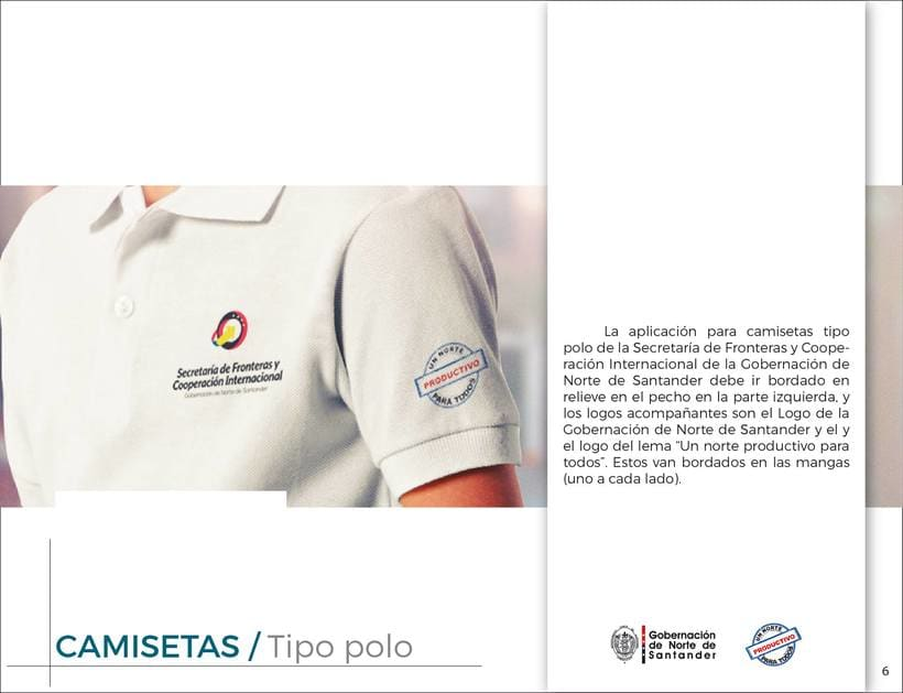 Manual de Identidad Visual Corporativa (Secretaría de Fronteras y Cooperación Internacional) 5
