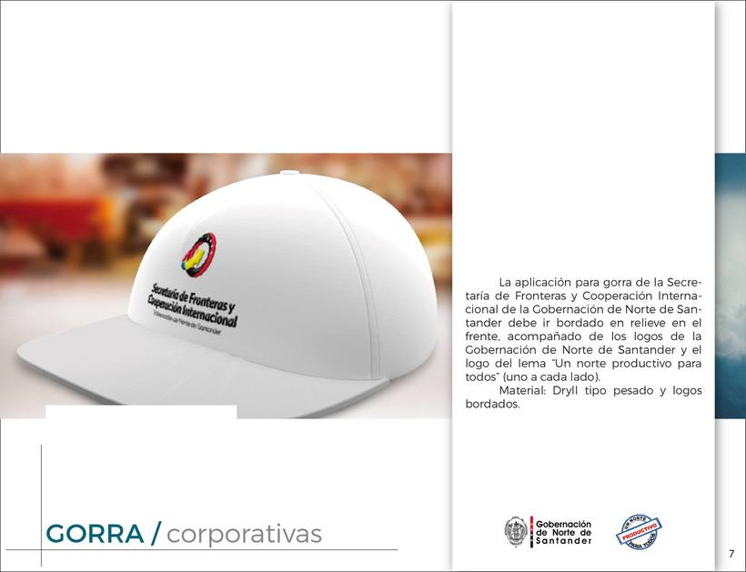 Manual de Identidad Visual Corporativa (Secretaría de Fronteras y Cooperación Internacional) 6