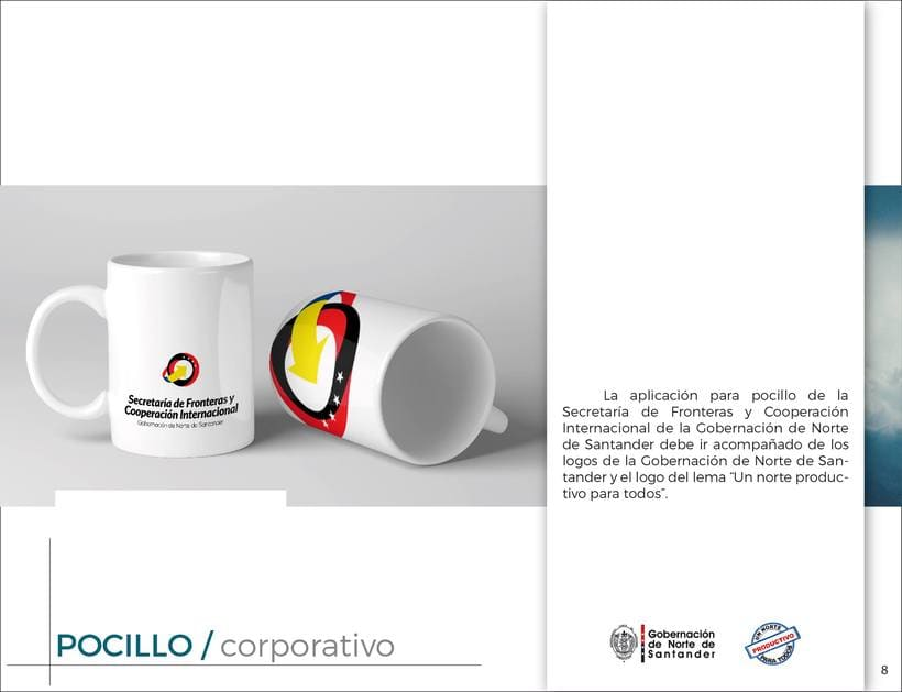 Manual de Identidad Visual Corporativa (Secretaría de Fronteras y Cooperación Internacional) 7