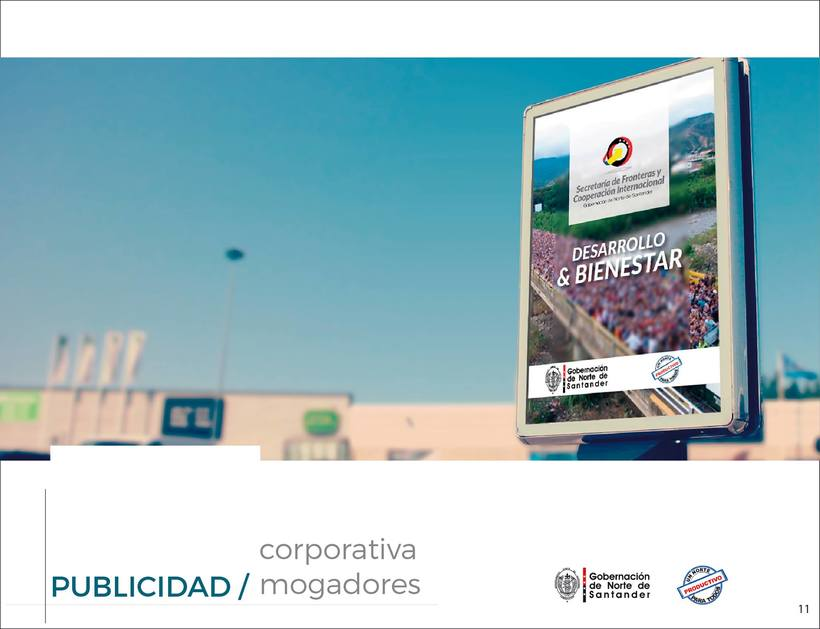 Manual de Identidad Visual Corporativa (Secretaría de Fronteras y Cooperación Internacional) 10