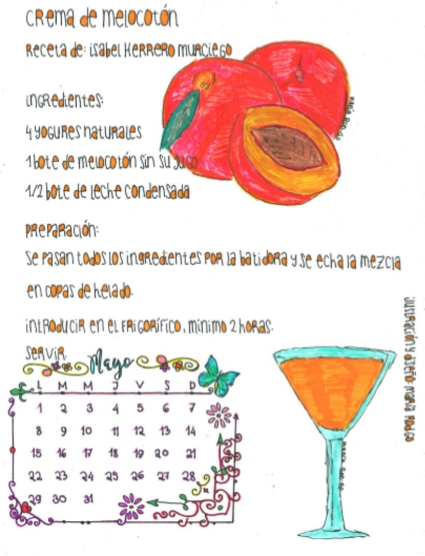 Calendario Dulce 2017 con Recetas Ilustradas. María Rod.go & Company... 5