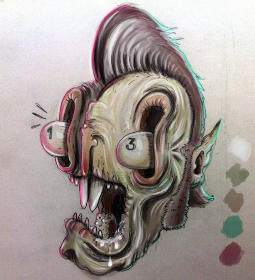 Guacala Sketch -1