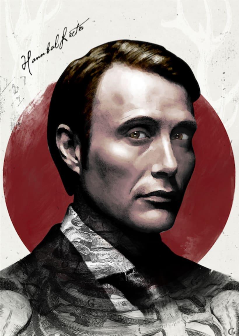 Hannibal Lecter (serie) by Ari B Miró 1