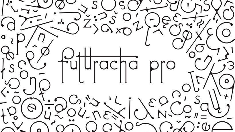 Futuracha, una tipografía que cambia mientras escribes 10