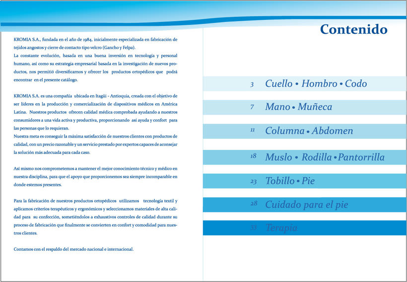 Catálogo 2010 Kromia/Tecnomed -1