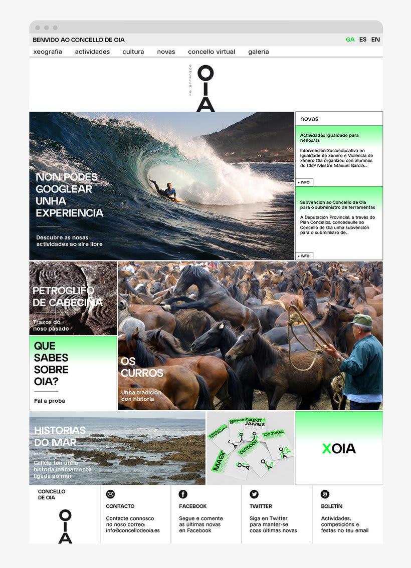 Ayuntamiento de Oia/ Concello de Oia – Identidad 14