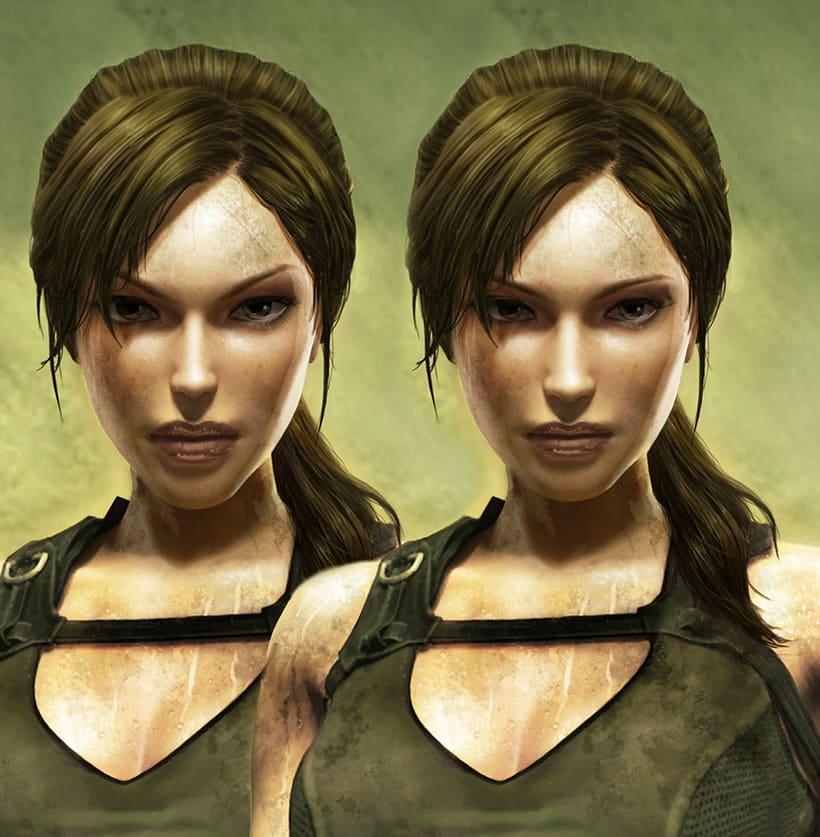Retoque digital: Tomb Raider -1
