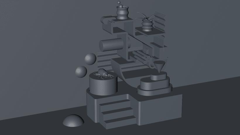 Mi Proyecto del curso: Visualizaciones en 3D con Cinema 4D, Illustrator y Photoshop 1