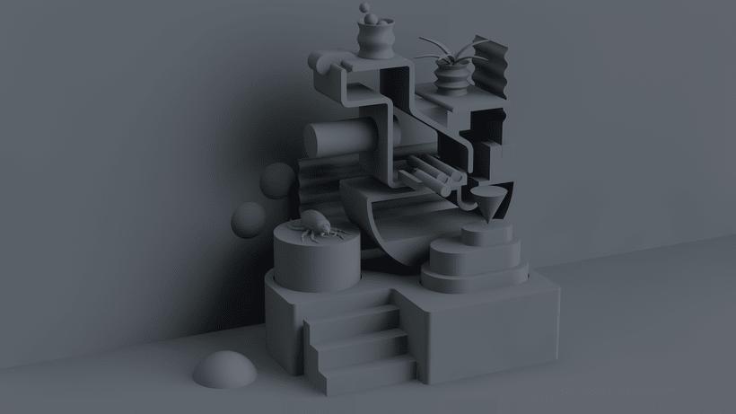 Mi Proyecto del curso: Visualizaciones en 3D con Cinema 4D, Illustrator y Photoshop 2