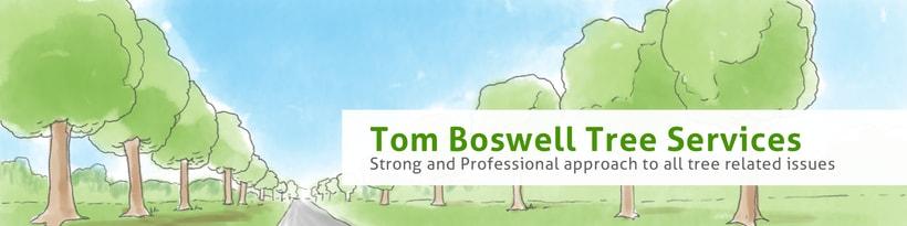 Tom Boswell Tree Services - Diseño web, ilustración, gestión y creación de contenidos. 1