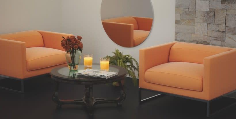 """""""Naranjas"""" Archviz Interior 0"""