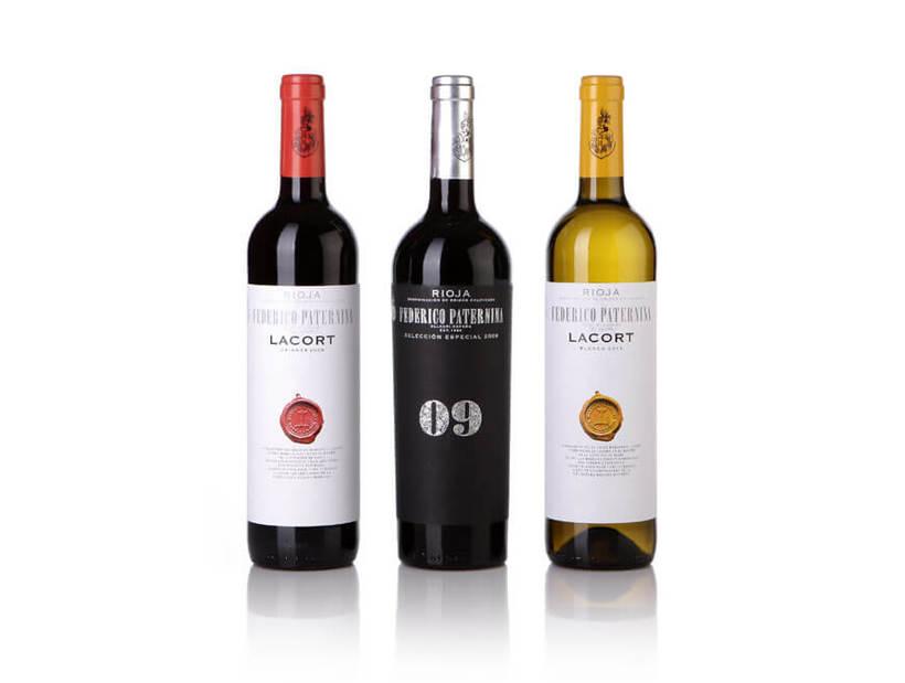 Fotografía de botellas para Bodegas Paternina -1