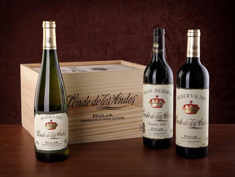 Fotografía de botellas para Bodegas Paternina 0