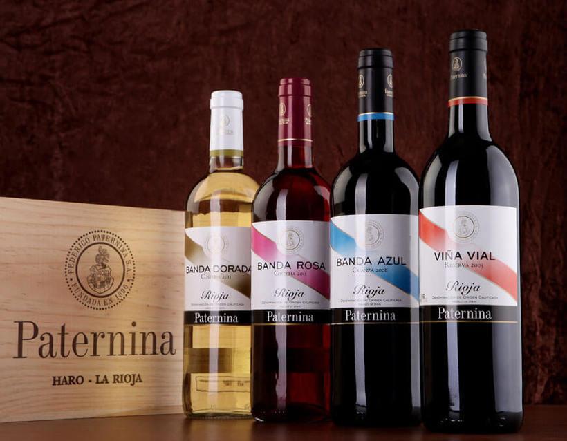 Fotografía de botellas para Bodegas Paternina 2