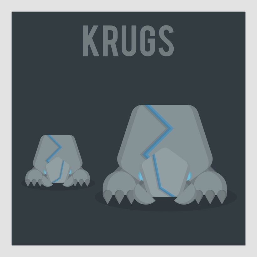 League of Legends Monsters: Krugs -1