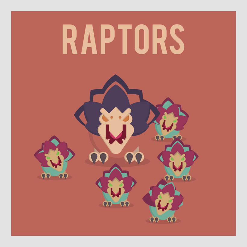 League of Legends Monsters: Raptors -1