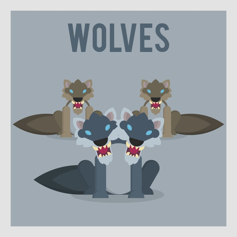 League of Legends Monsters: Wolves -1