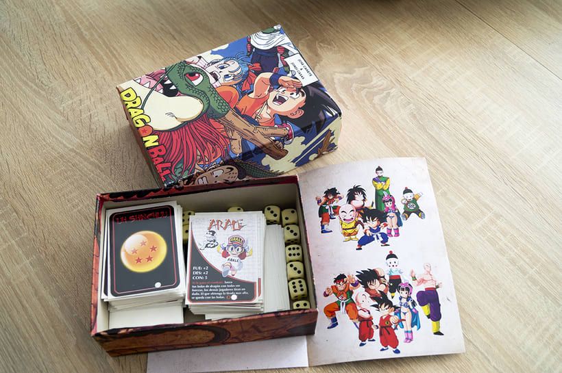 Dragon Ball Juego de mesa 2