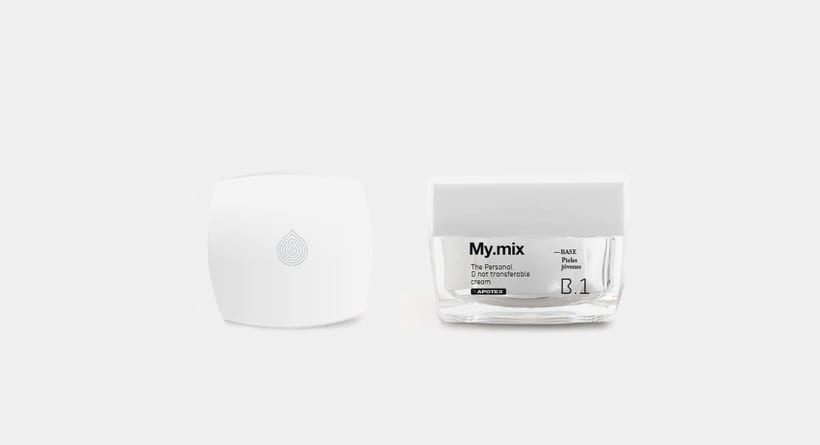 "Branding and packaging - ""My mix"" cosmetic line. 8"