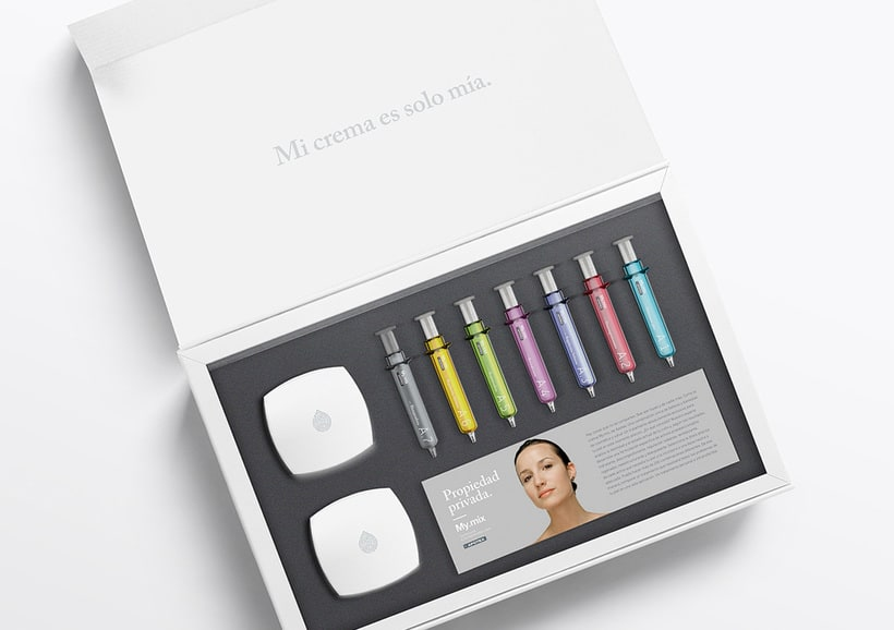 "Branding and packaging - ""My mix"" cosmetic line. 10"