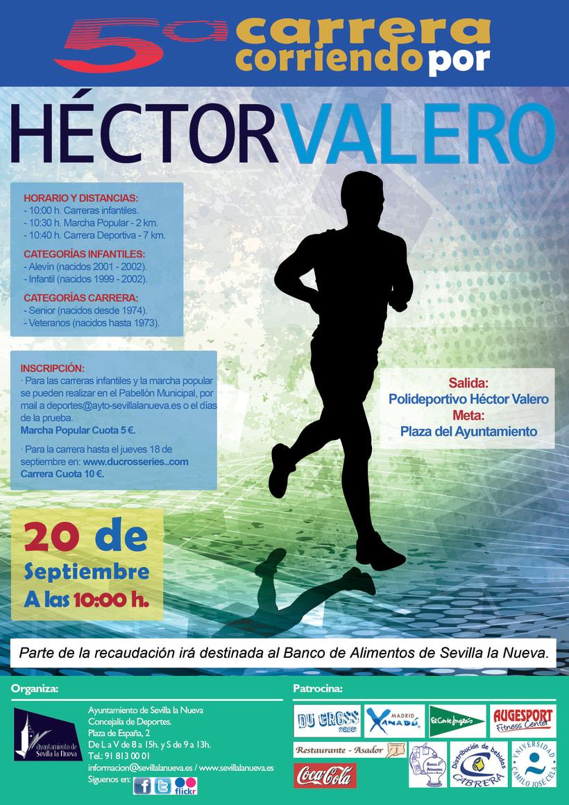 Cartel carrera Hector Valero -1
