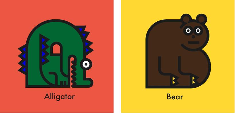 Animal alphabet 0