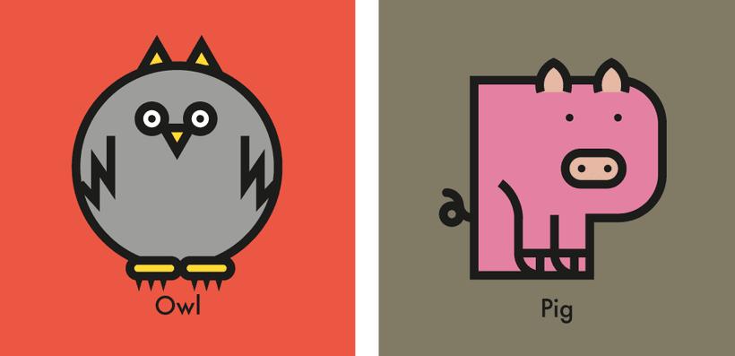 Animal alphabet 3