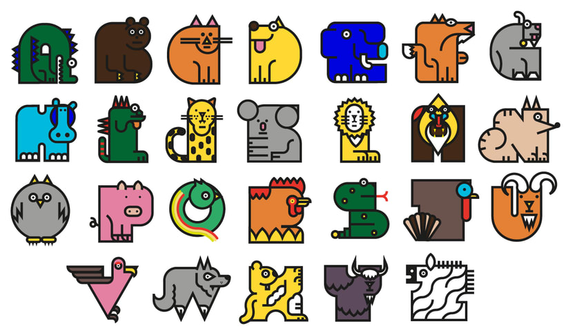 Animal alphabet 6