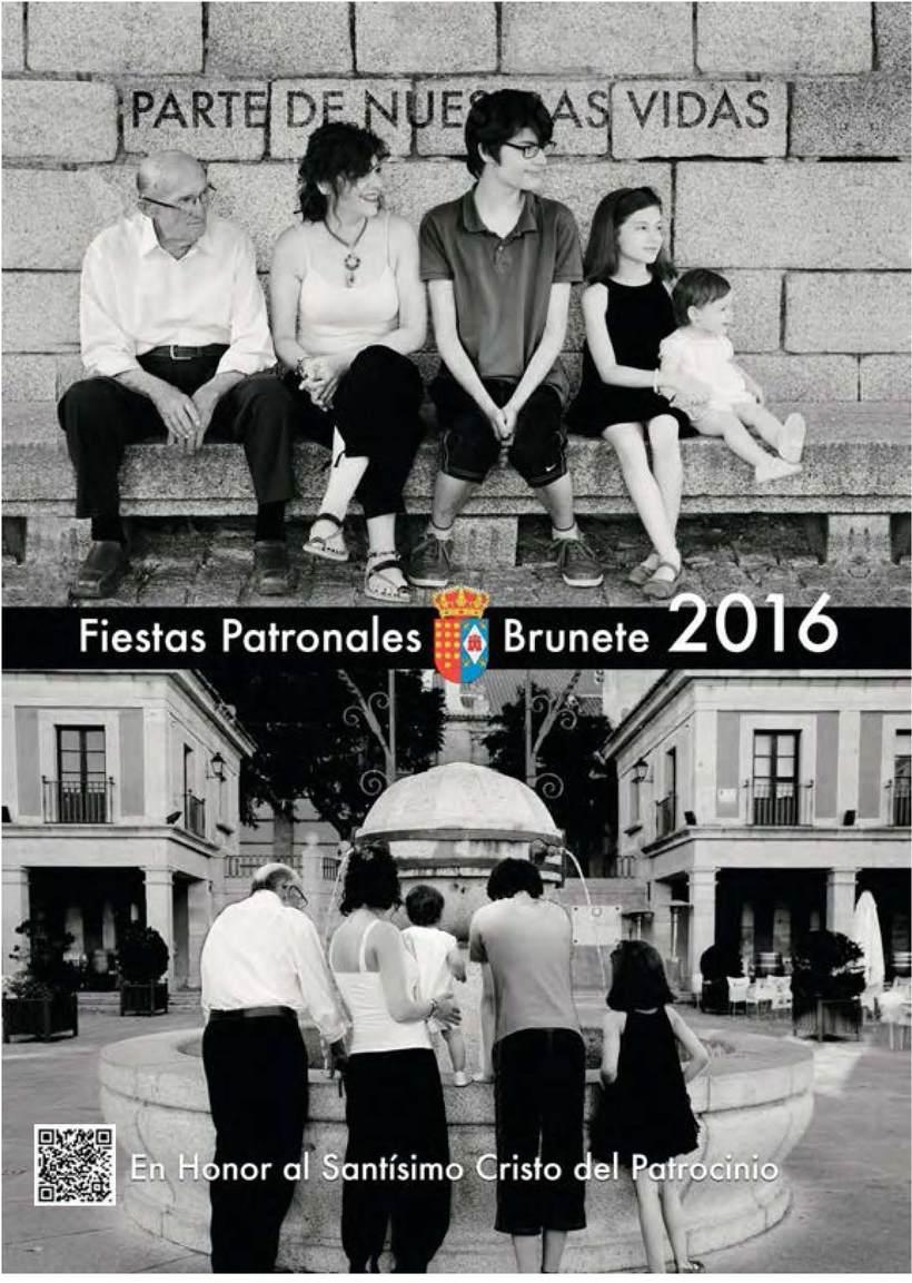 Programa de fiestas patronales de Brunete 2016 -1