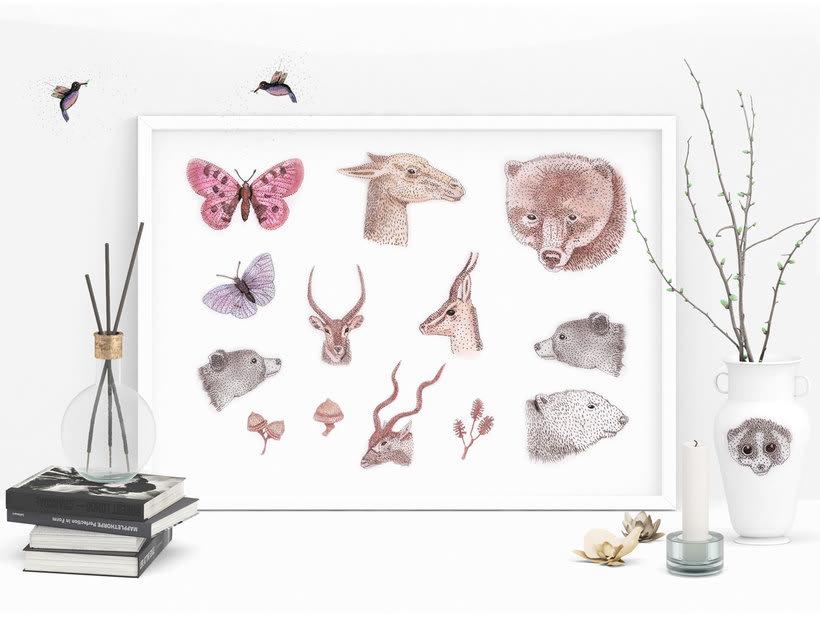 Naturaleza e ilustración una y otra vez 5