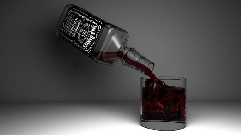 Práctica botella Jack Daniels 0