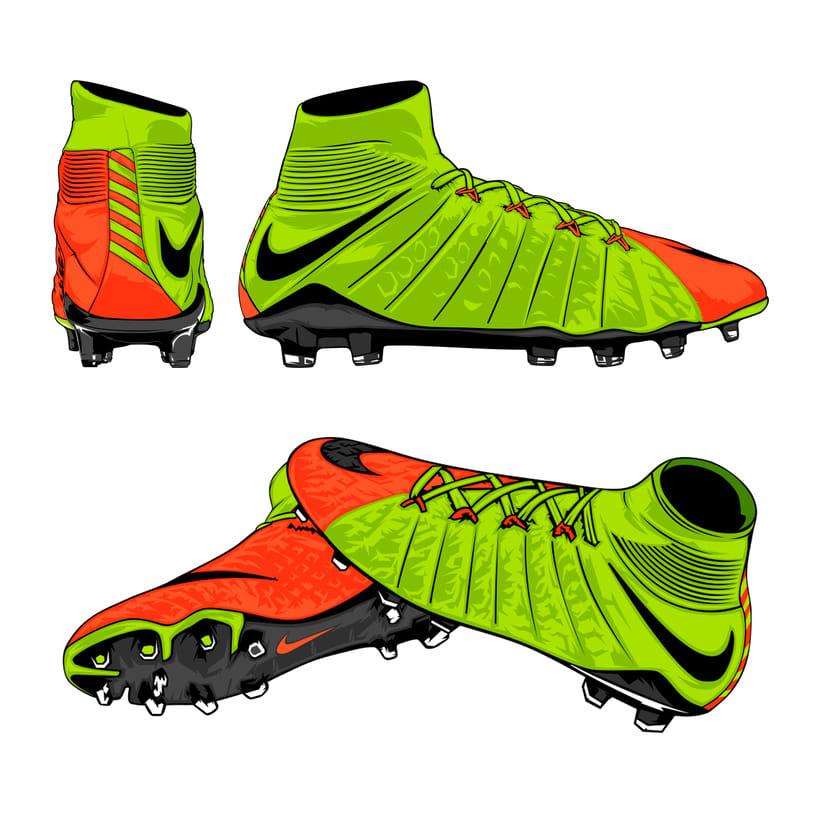 Nike // Hypervenom 3 8