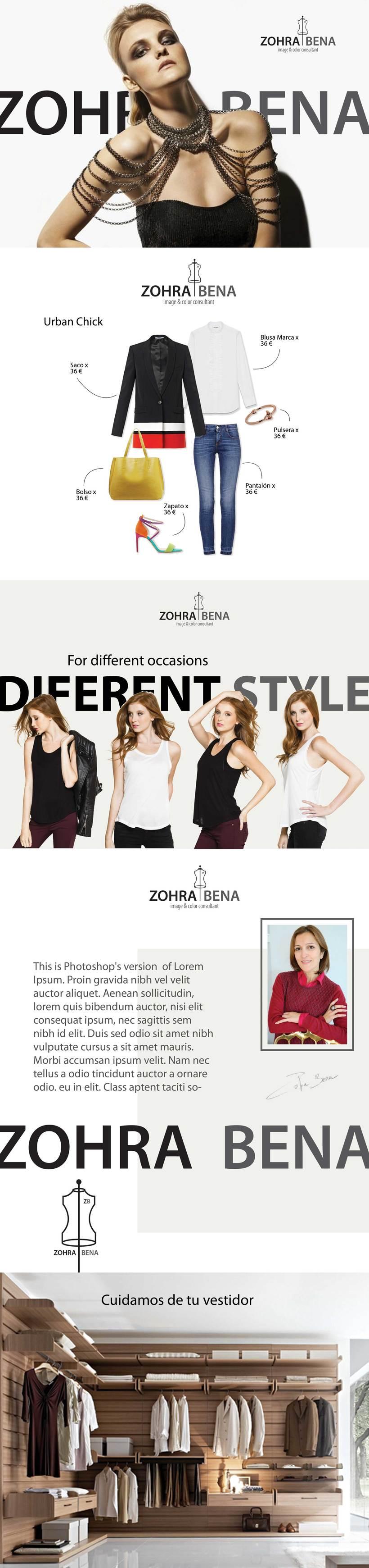 Zohra Bena - Identidad Corporativa - Logo 0